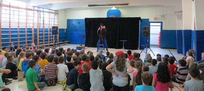 Magicien pour service de garde en milieu scolaire