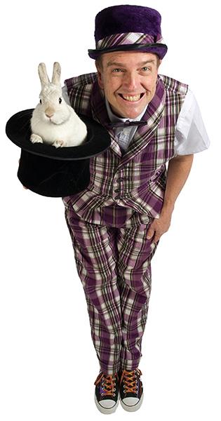 Le Magicien Biz et son lapin Whippet